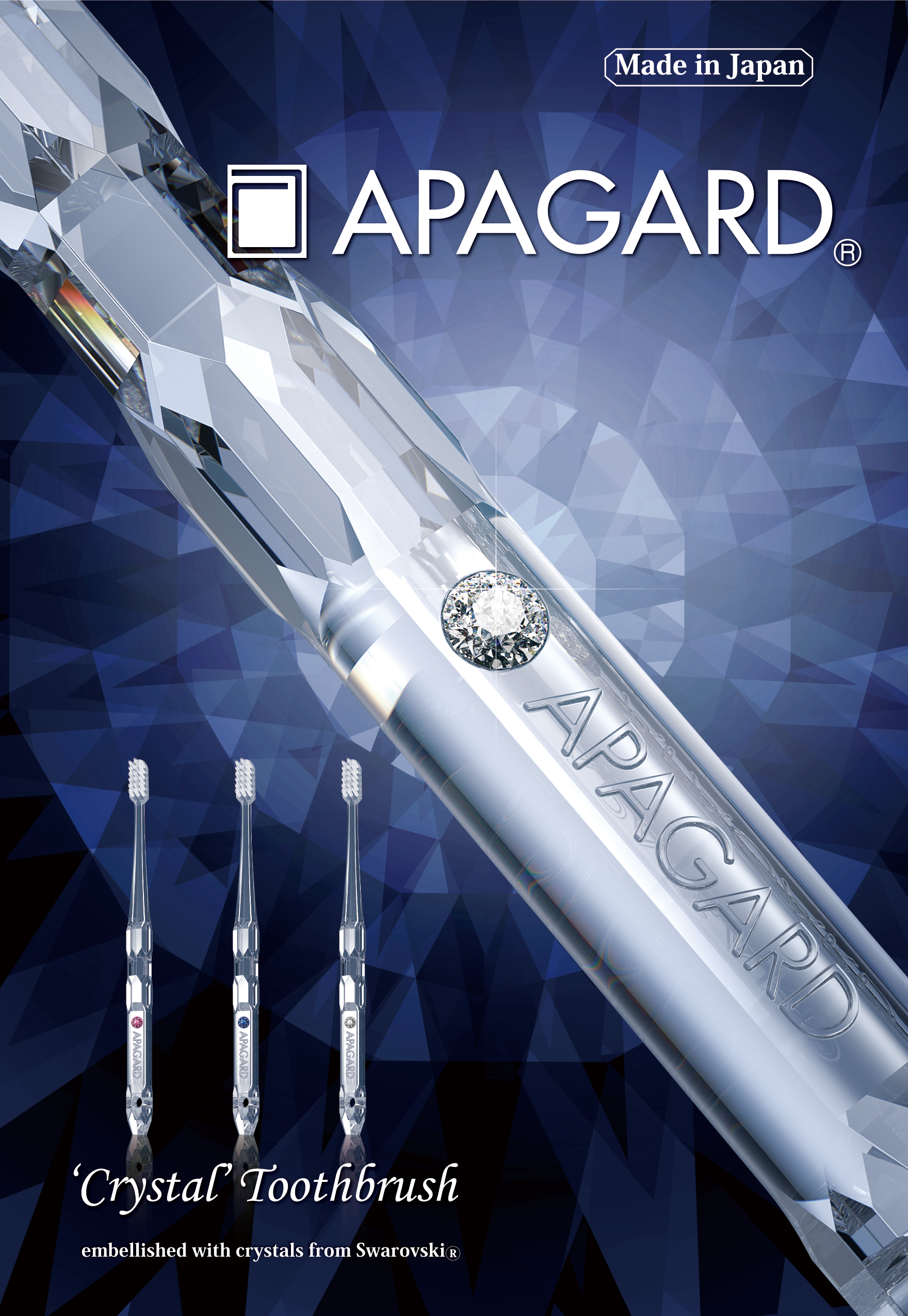 "APAGARD® ""Kristall"" Zahnbürste (Kristall)"