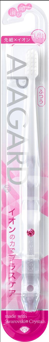 "APAGARD® ""Kristall"" Zahnbürste  (Rose)"